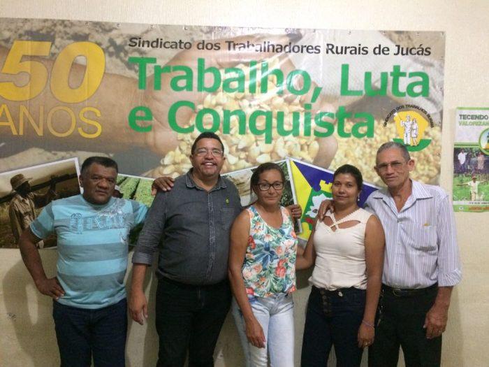 CSB CE defende representação dos trabalhadores no Congresso junto a profissionais do campo de Jucás