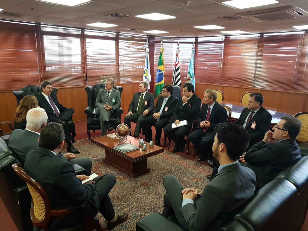 Comitiva se reúne com presidente do TRT da 15ª Região para discutir a instalação de 3ª Vara do Trabalho em Presidente Prudente (SP)