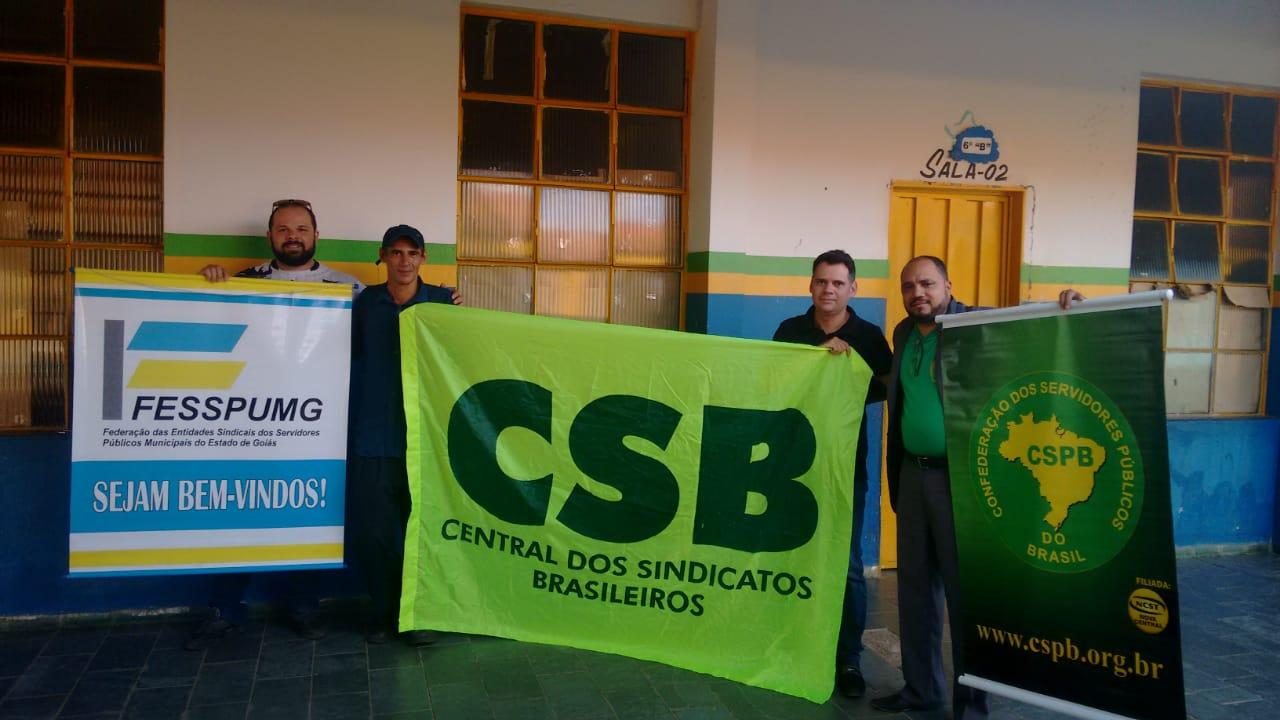 Chapa apoiada pela CSB vence eleições do Sindicato dos Servidores Municipais de Aragarças (GO)
