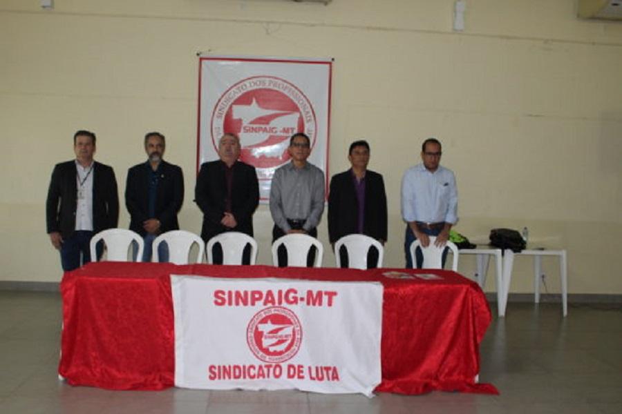 Sinpaig-MT promove segundo seminário de formação sindical