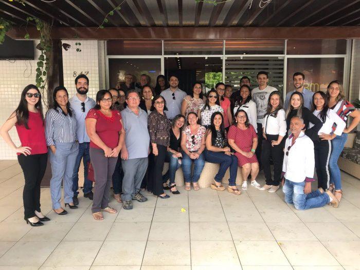 Oficiais de Justiça de Itapipoca (CE) realizam reunião com os servidores do Fórum