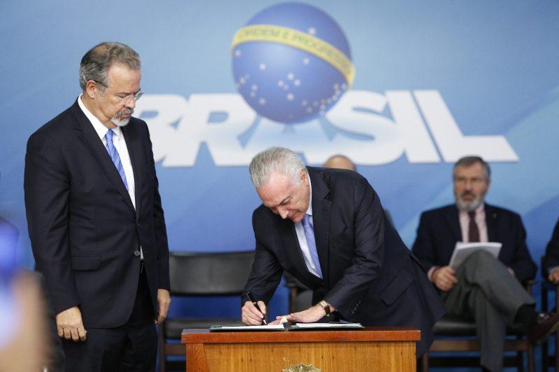 Lei que cria o Sistema Único de Segurança (SUSP) é sancionada em Brasília