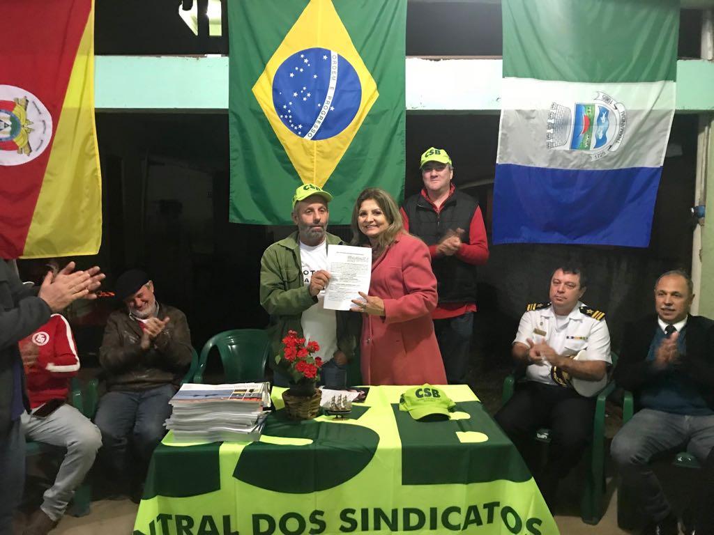 CSB assina convênio educacional com pescadores do litoral Norte do RS