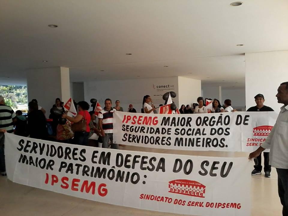 Servidores do Instituto de Previdência de Minas Gerais aprovam agenda de paralisações