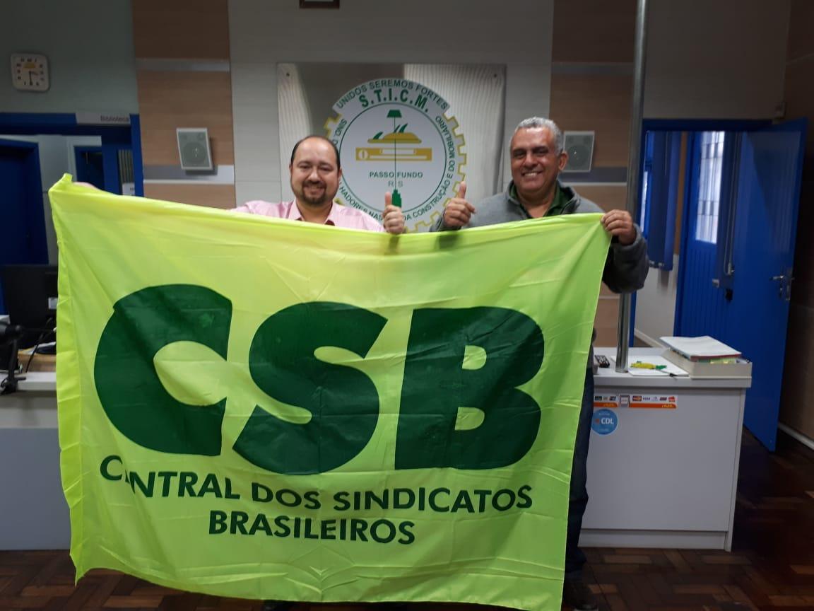 Trabalhadores nas Indústrias da Construção e Mobiliário de Lagoa Vermelha (RS) juntam-se à CSB