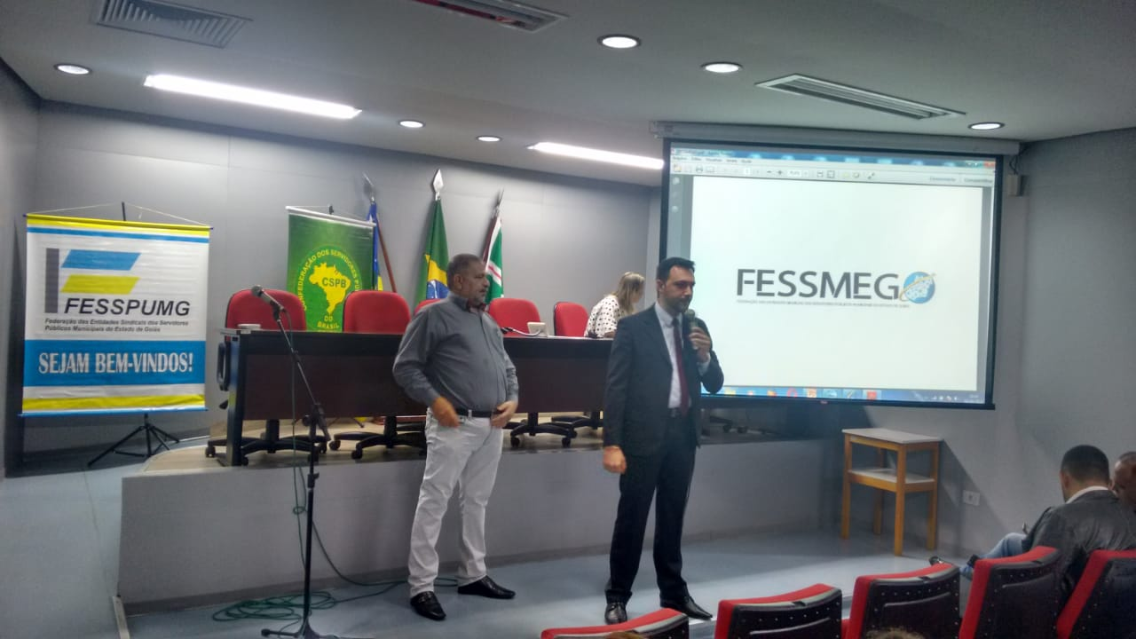 Com 140 entidades filiadas, FESSPUMG se une à CSB