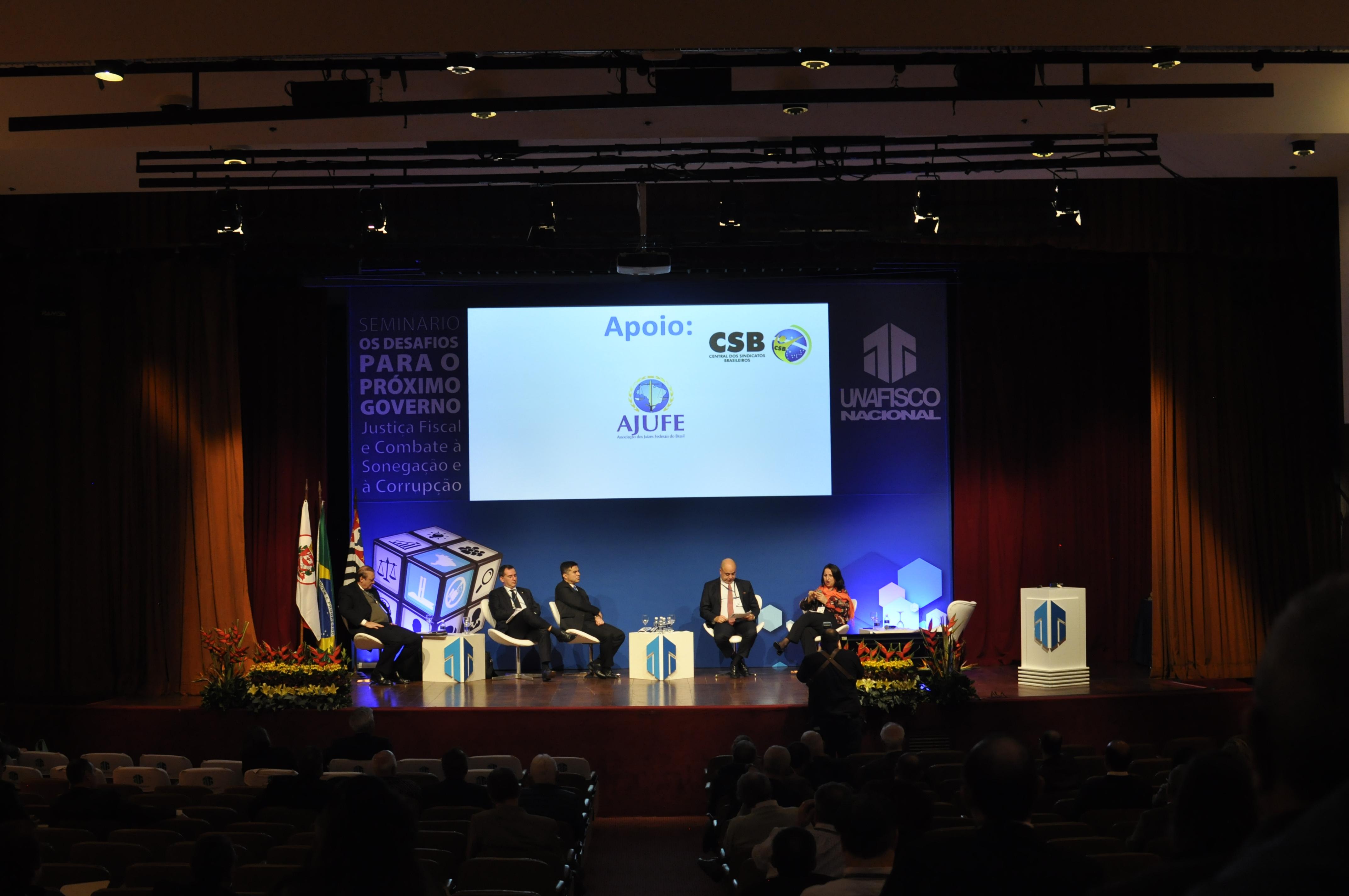 Especialistas criticam a reforma da Previdência durante seminário da Unafisco