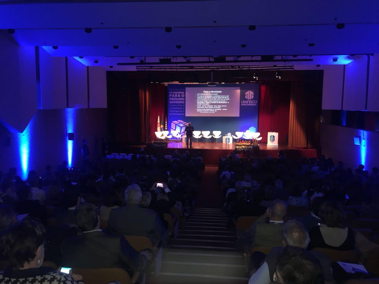 Combate à corrupção, sistema tributário e Refis são destaque em seminário da Unafisco