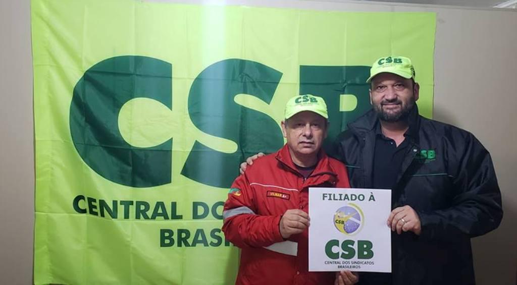 Sindicato dos Bombeiros do Rio Grande do Sul oficializa filiação à CSB