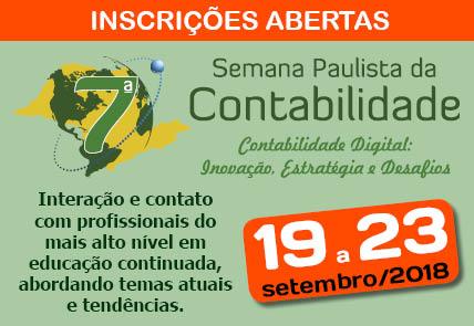 Sindcont-SP promove 7ª Semana Paulista da Contabilidade