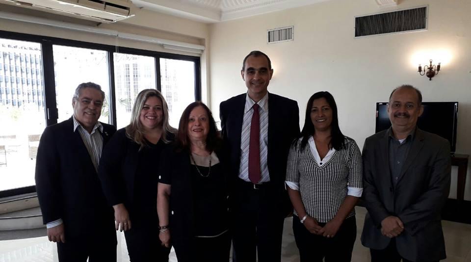 Federação dos Contabilistas se reúne com superintendente do Trabalho no Rio de Janeiro