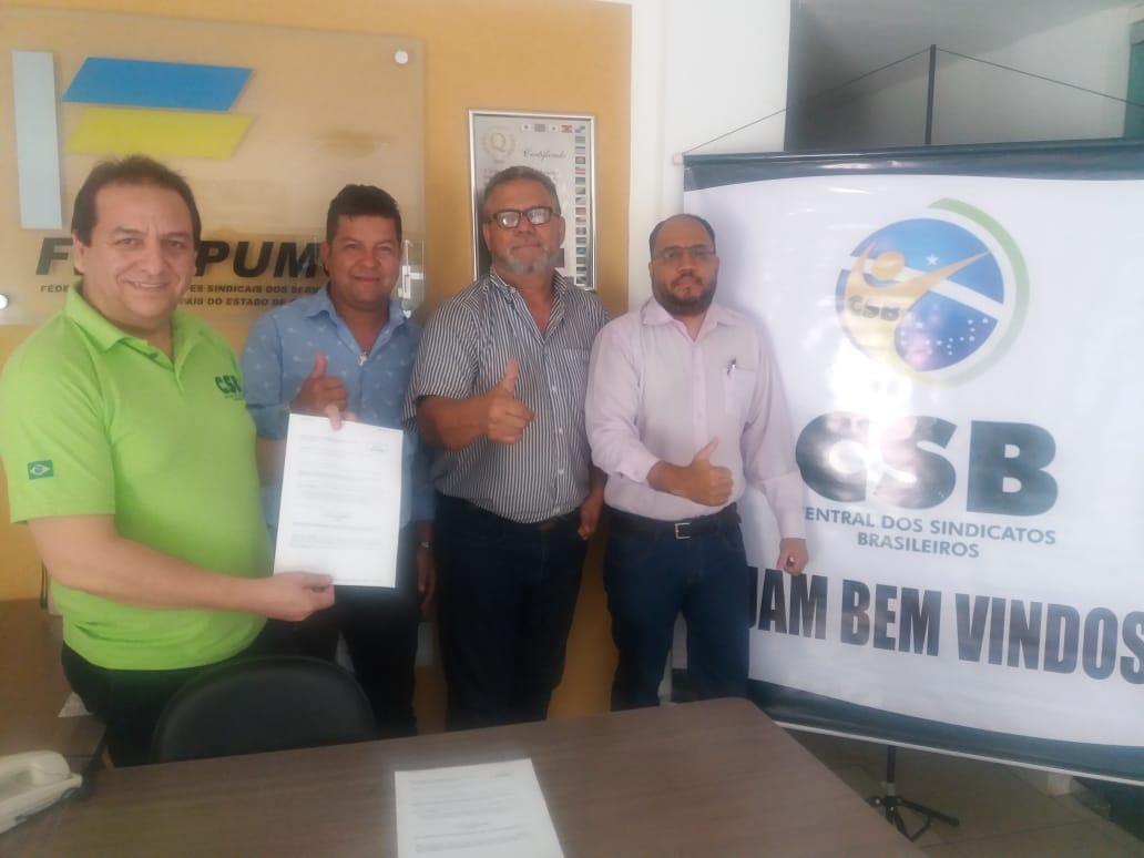 Sindicato dos Servidores Públicos Municipais de Mineiros é o mais novo filiado da CSB