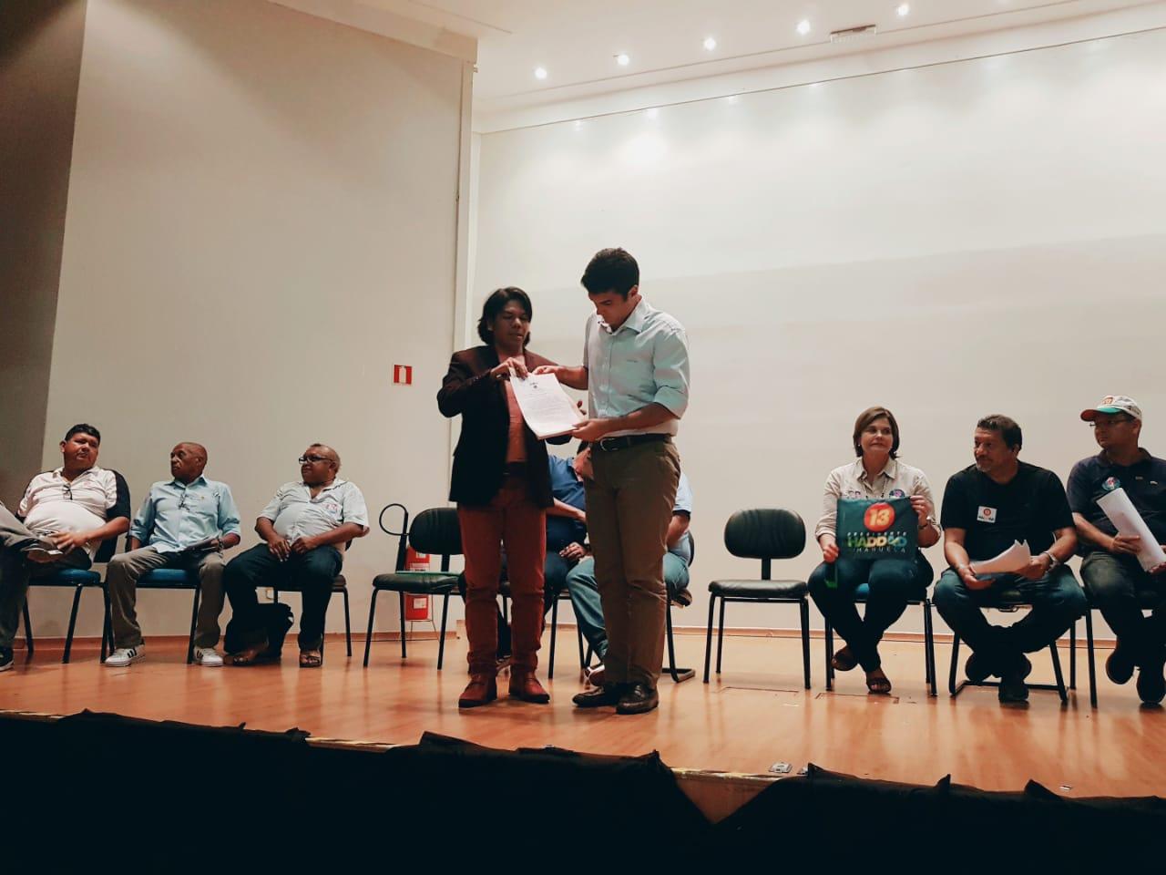 Entidades sindicais do Pará entregam carta ao governador eleito