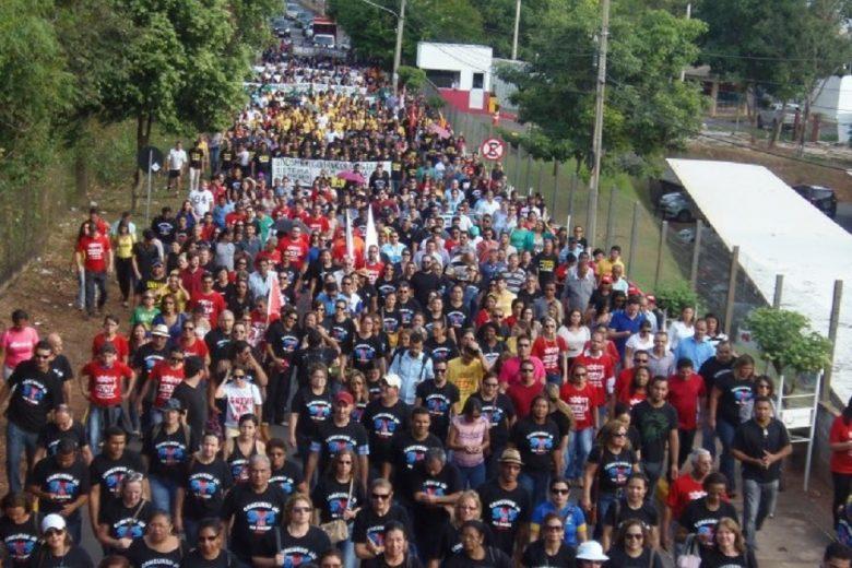 Servidores do Estado ameaçam greve geral por pagamento de RGA