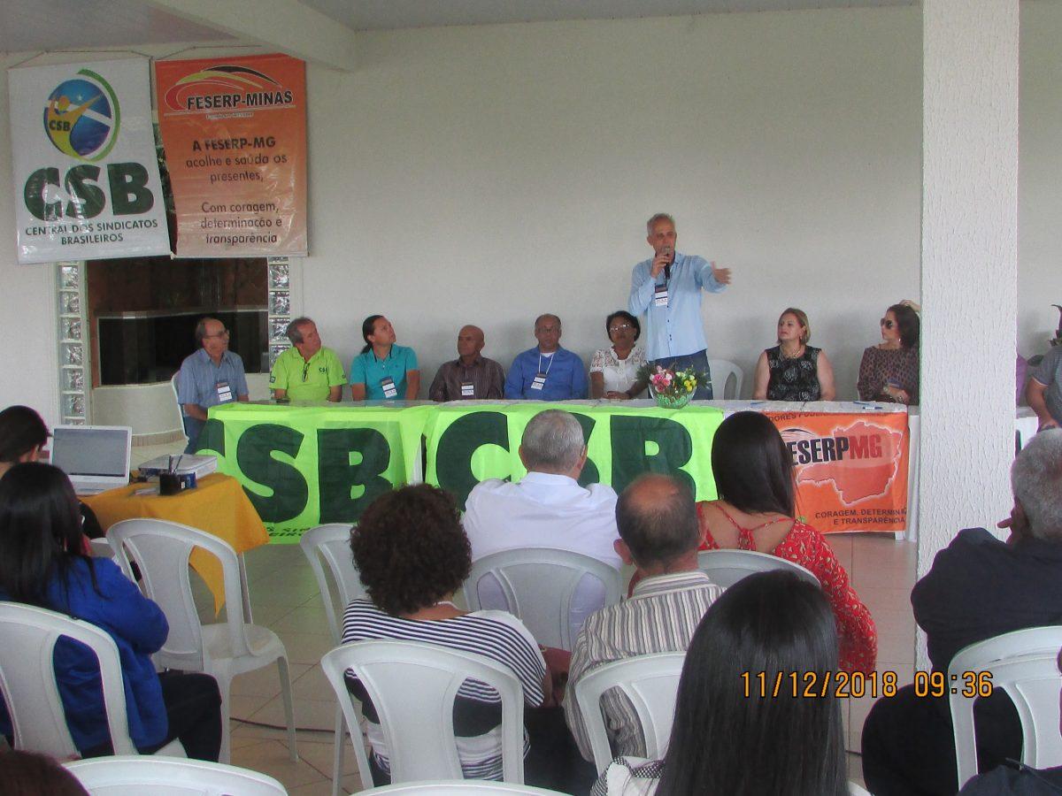 FESERP-MG, CSB e SINTRASP promovem discussão sobre os rumos do sindicalismo