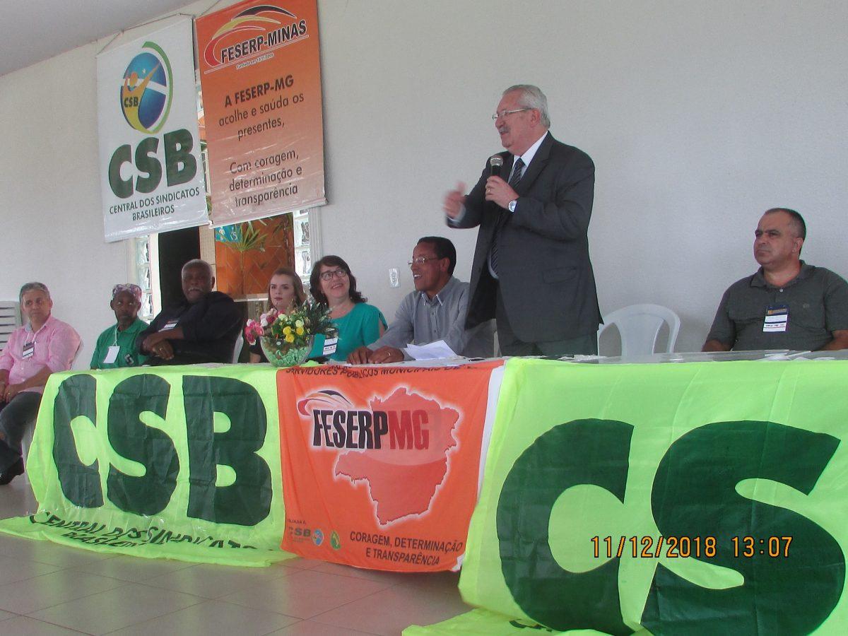 Em Uberlândia, presidente da CSB prega resistência e nada de abatimento