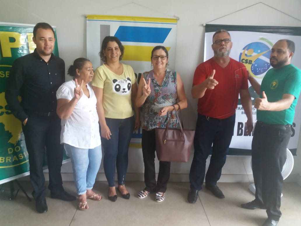 Chapa apoiada pela CSB vence eleições em de Bela Vista de Goiás
