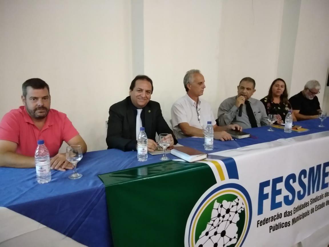 FESERP-MG presente em debate sobre a Reforma Trabalhista e os rumos do sindicalismo