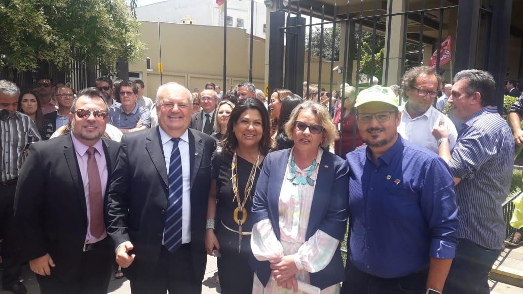 CSB participa de ato em defesa da Justiça do Trabalho