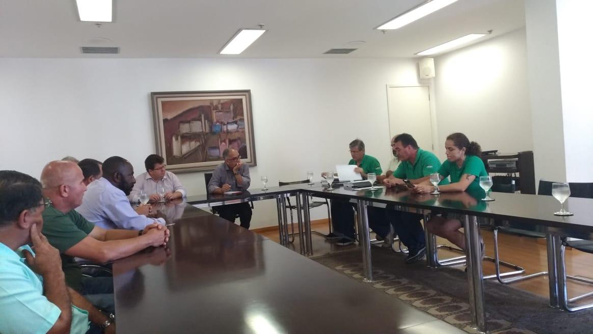 Reunião entre Sindicato e prefeito discute situação da EMPAV/Juiz de Fora