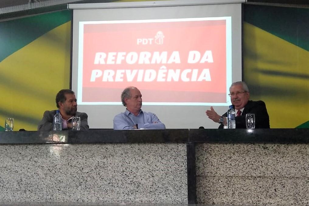 Antonio Neto critica os privilégios na aposentadoria em seminário sobre a Reforma da Previdência