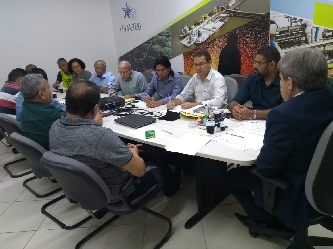 Centrais se reúnem com o secretário do governo de Hélder Barbalho