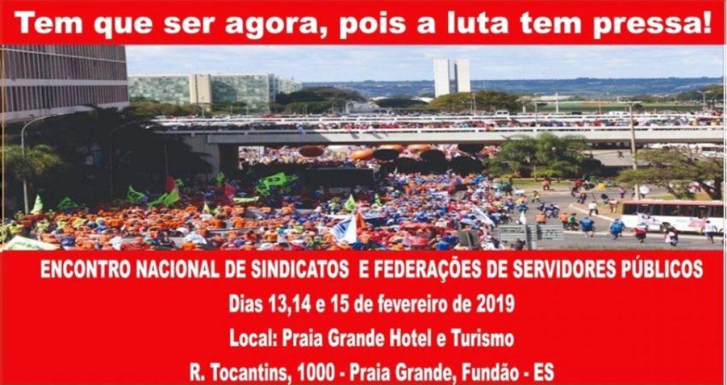 Filiadas da CSB participam de encontro nacional de sindicatos e federações de servidores