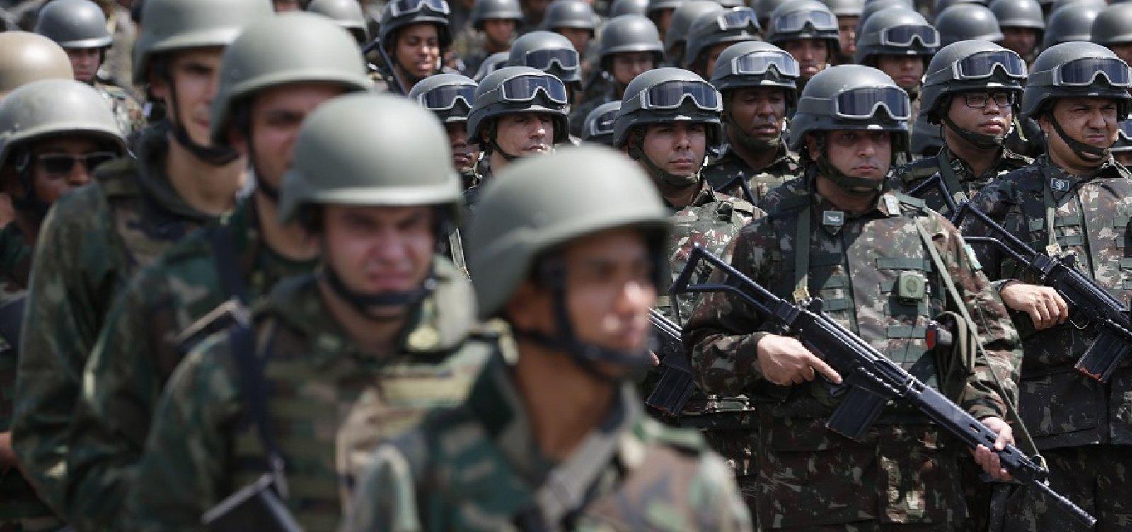 Proposta de militares eleva custo da categoria em R$ 10 bi em uma década