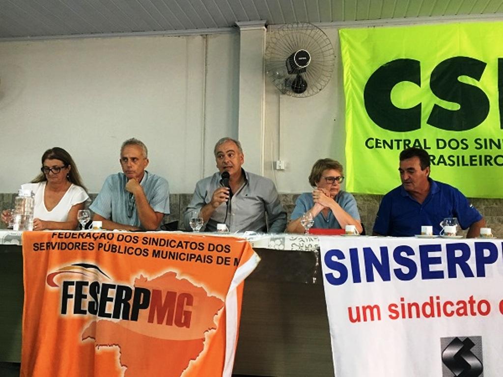 Encontro Regional da Feserp-MG tem debate entre parlamentares sobre temas cruciais para a Classe Trabalhadora