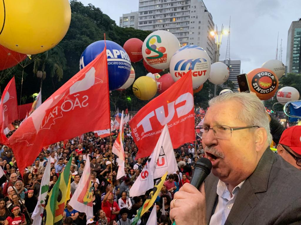 Pelo Brasil, trabalhadores dizem não à reforma da Previdência de Bolsonaro