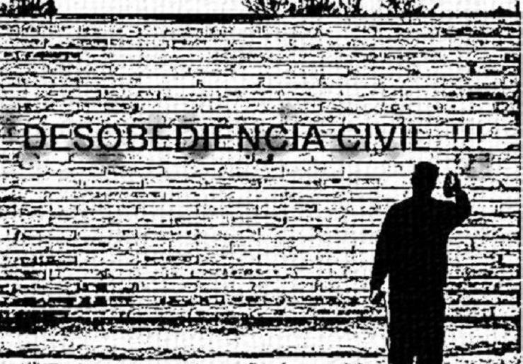 Contra a ditatorial e inconstitucional MP de Bolsonaro, a desobediência civil e judiciária