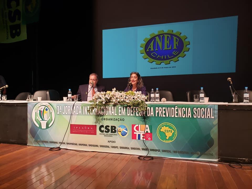 """""""Os brasileiros precisam resistir"""", diz representante chilena sobre a reforma da Previdência"""