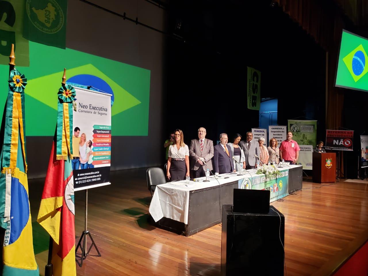 Jornada internacional constrói base de luta pela Previdência Social em Porto Alegre