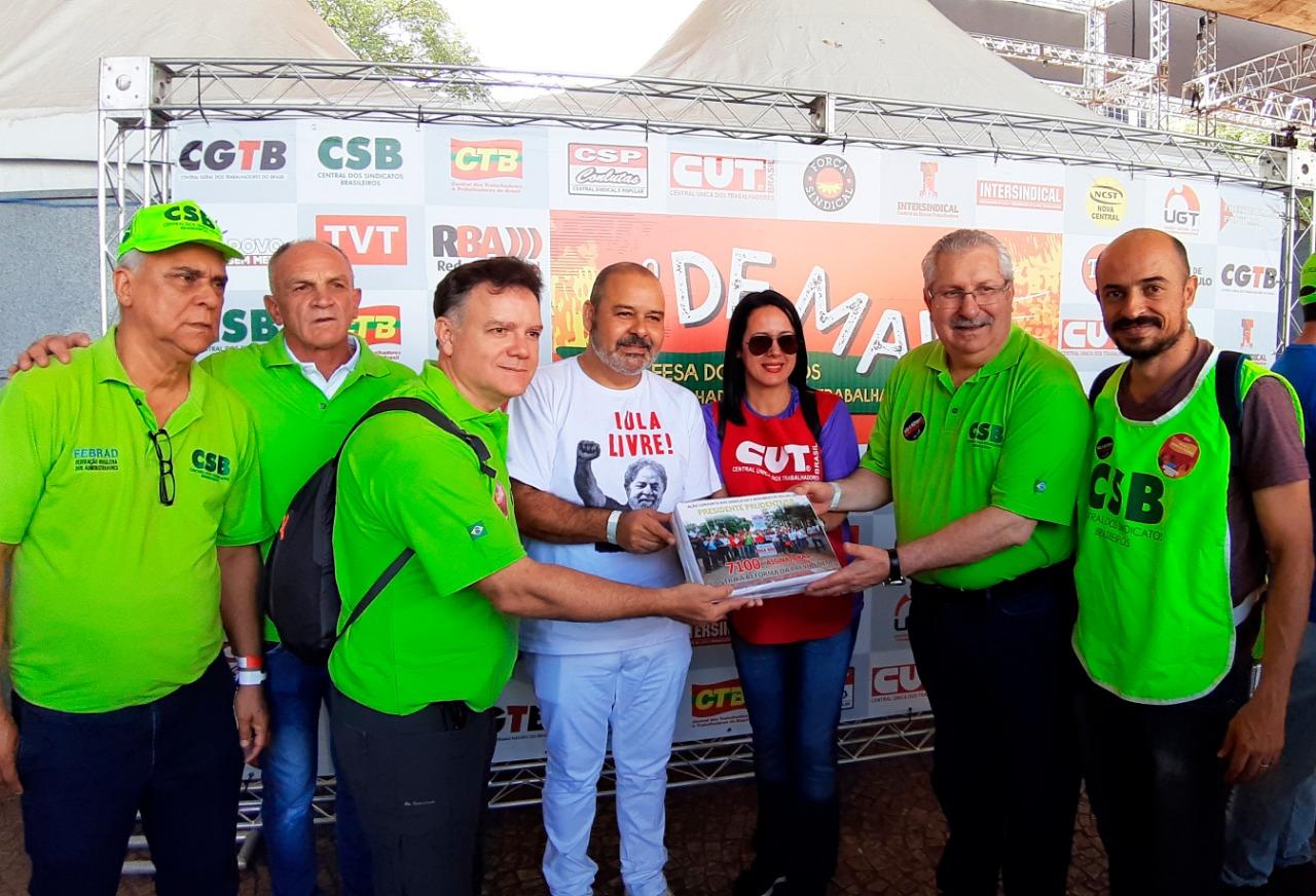 Unificado, movimento sindical de Presidente Prudente conquista mais de 7 mil assinaturas contra reforma
