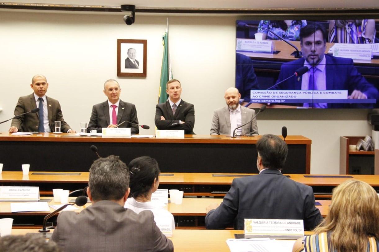 Na Câmara dos Deputados, dirigentes da CSB discutem violência e questionam a reforma da Previdência