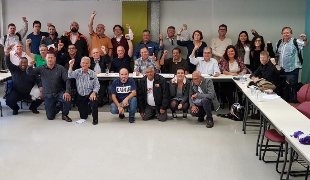Centrais sindicais definem calendário de luta para greve geral
