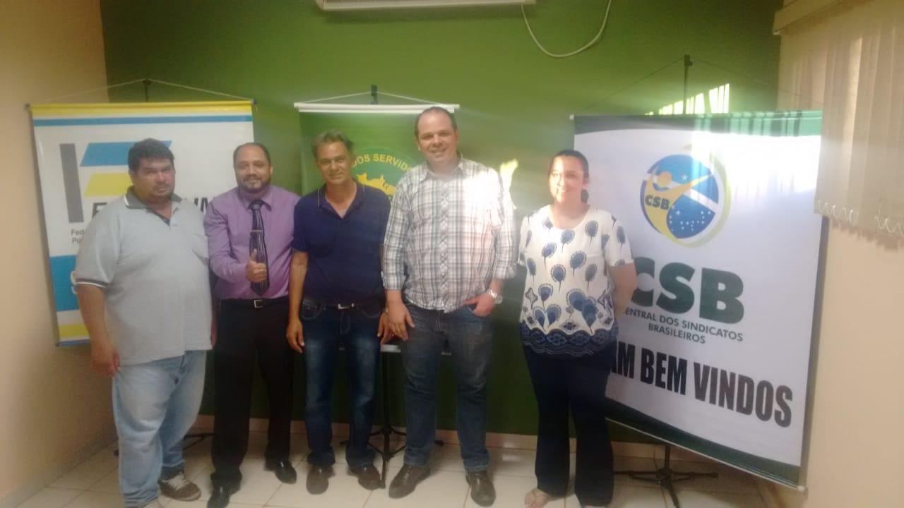 Chapas apoiadas pela CSB vencem eleições, e Seccional Goiás conta com nova pareceria dos servidores