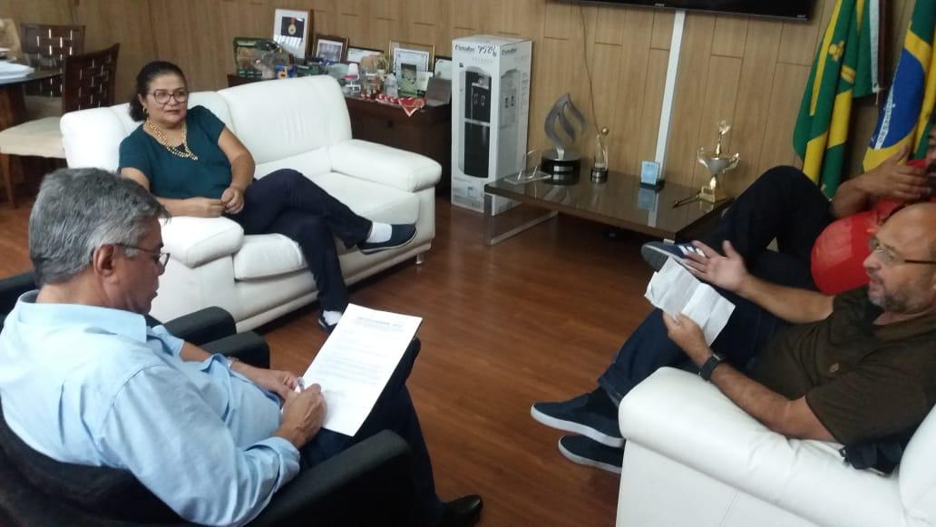 SINTESUF participa de reunião com o Reitor da UFCG