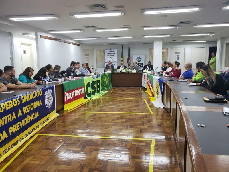 29 Anos da Fessergs: Palestra contra reforma da Previdência com Jair Soares e Exposição sobre trajetória marcam data