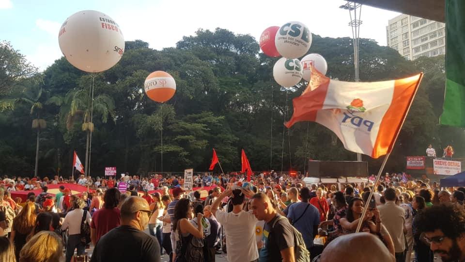 #GREVE GERAL – Milhões de brasileiros dizem NÃO à reforma da Previdência em todo o Brasil