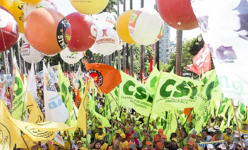 Nota das centrais sindicais sobre a greve de 14 de junho
