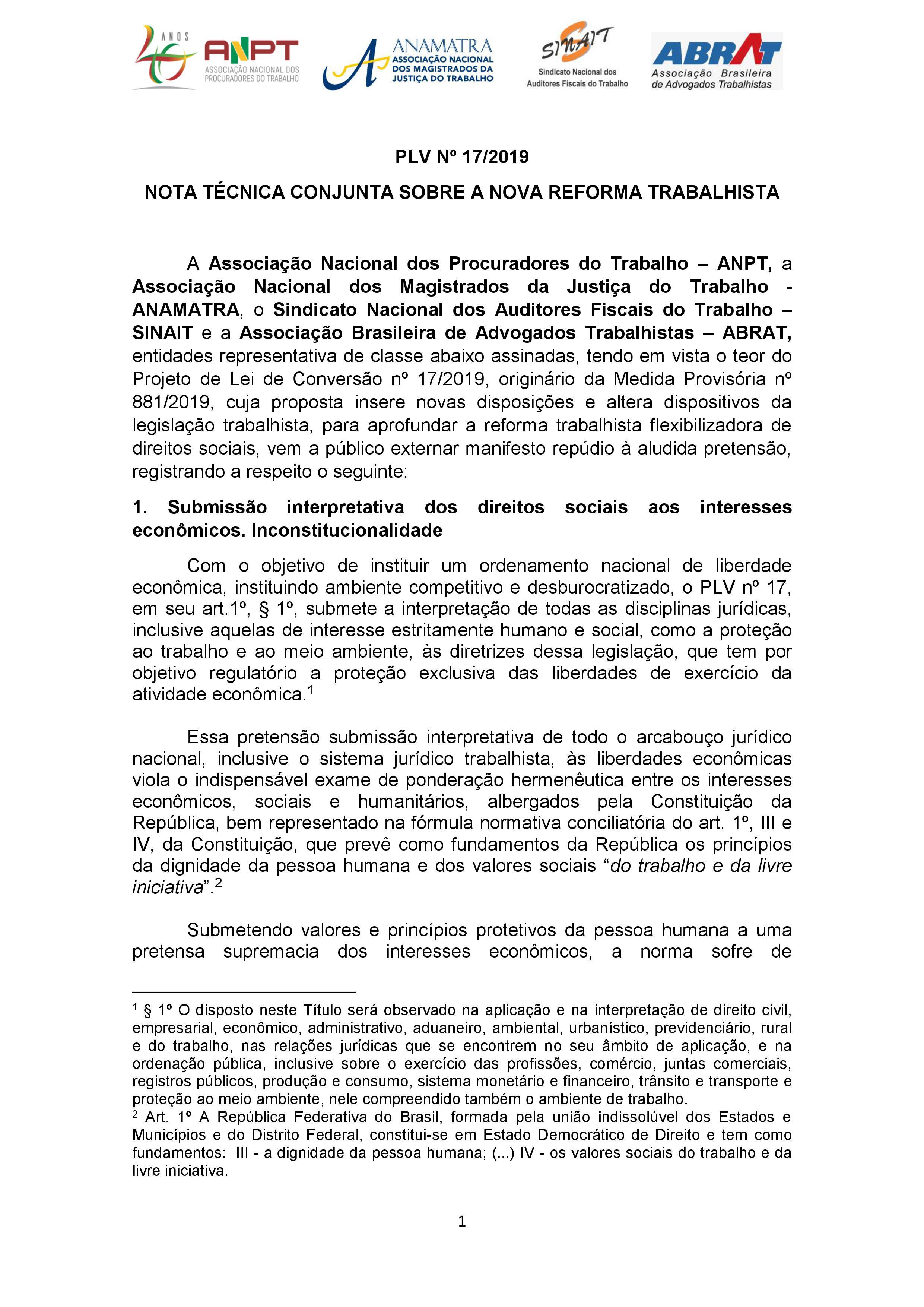 CSB Entidades, representativas da justiça do trabalho, emitem nota