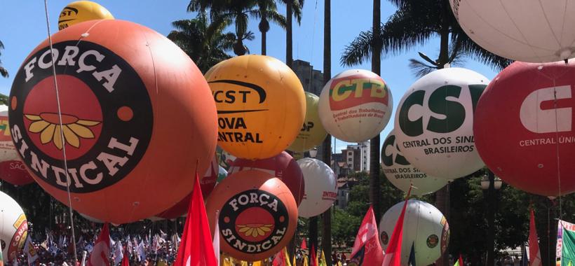 Centrais Sindicais divulgam nota com próximas ações na luta contra a Reforma da Previdência de Bolsonaro e Guedes