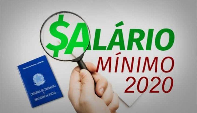 Sem aumento real, salário mínimo vai subir para 1040,00