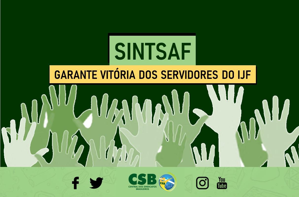 Ação do SINTSAF garante vitória dos servidores do IJF