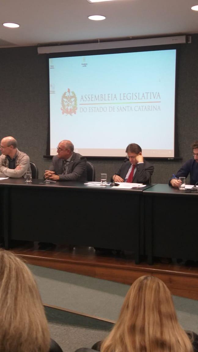 Em defesa das NRs, CSB marca presença em audiência pública na ALESC