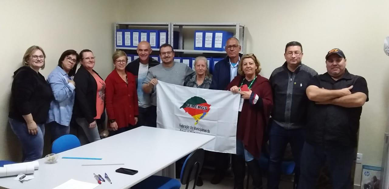 Sindicato dos servidores públicos da cidade de Osório (RS) elege nova diretoria