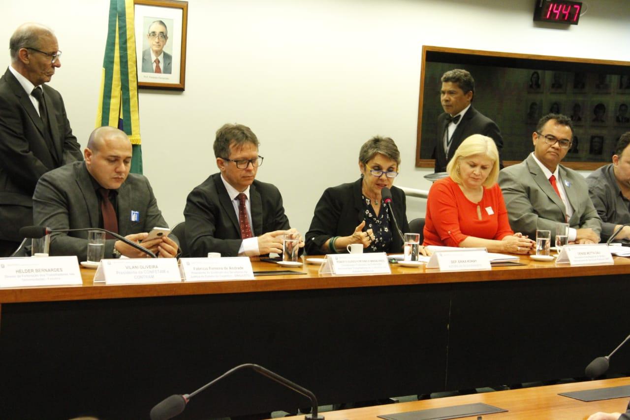 Direito dos servidores públicos a organização sindical é pauta de reunião na Câmara dos Deputados