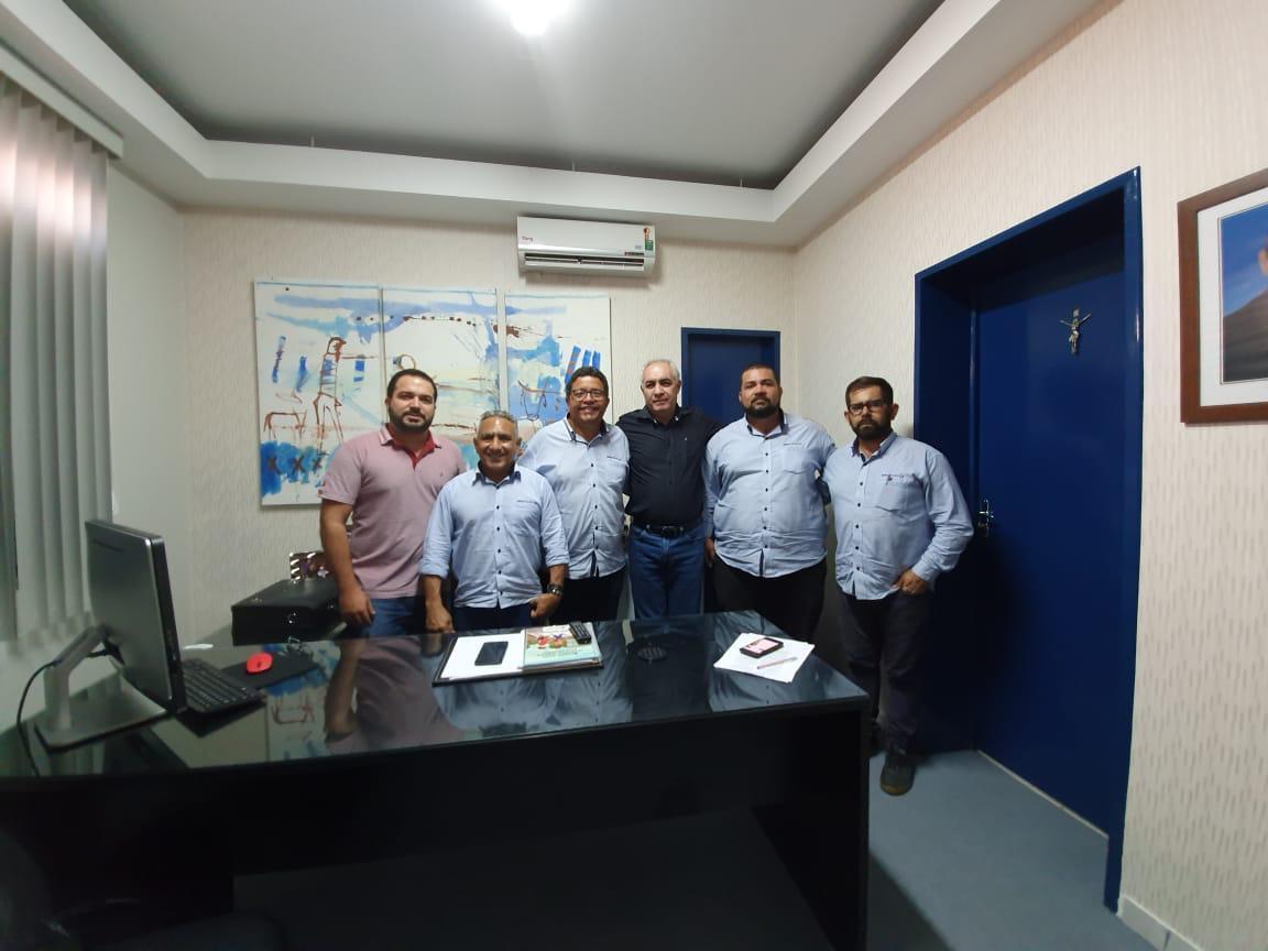 Diretoria do SINDITAXI-CE se reúne com secretário de articulação política da prefeitura