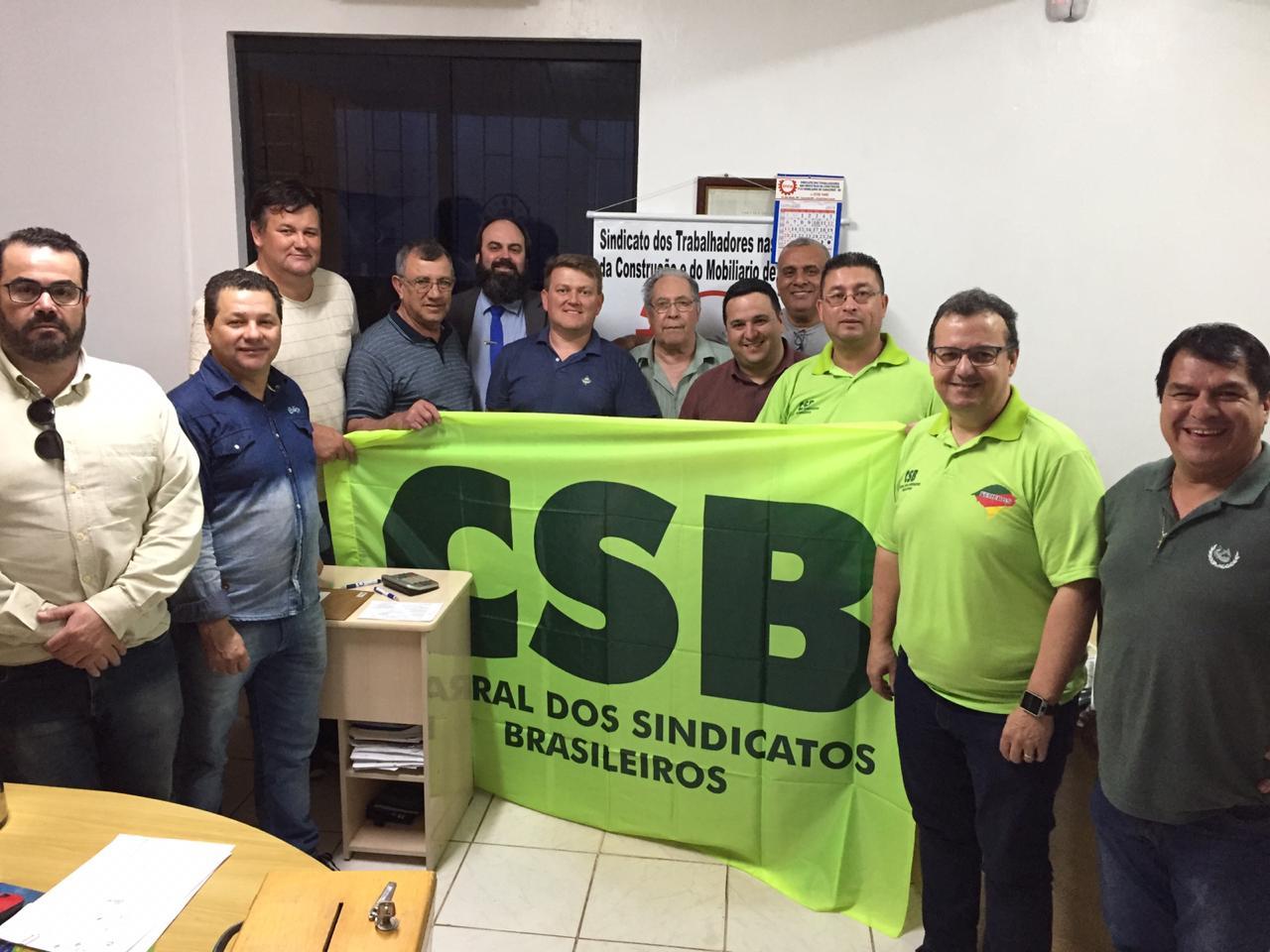 Trabalhadores de Carazinho (RS) elegem nova diretoria para o sindicato dos profissionais da indústria da construção e do mobiliário